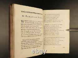 1741 Paradise Lost by John Milton English Poetry Illustrated RARE Art
