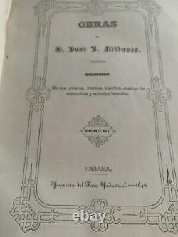 1846 OBRAS de JOSE MILANES POEMS CUBAN AMERICAN POET ART books Complete poems