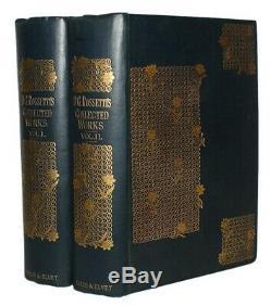 1890 DANTE GABRIEL ROSSETTI Verse PRE-RAPHAELITE POETRY Art FINE COPY