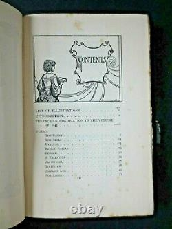 1900 Edgar Allan Poe Poems illustrated W H Robinson art nouveau 1st Bell edition
