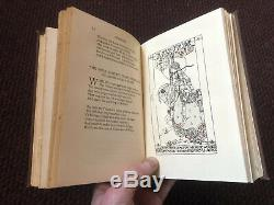 1907 Poems of Spenser Illustrated by Jessie M King W B Yeats Art Nouveau