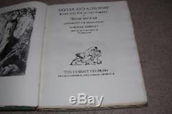 1928 Satyrs & Sunlight Poetry by Hugh McCrae, illus Norman Lindsay, RARE