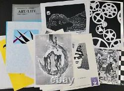 1981 Editions Santa Barbara ART/LIFE Magazine Portfolios Of Signed Prints Poems