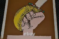1982 Vintage Cuban Movie Poster. Plakat. Affiche. AffischMelgarPeru Poetry. Poet
