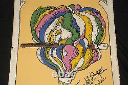 1989 Original Cuban Movie PosterCartas del Parqueart. Air Balloon. Love Poetry