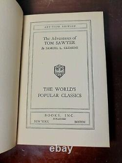 7 Art Type Edition Books of The World's Most Popular Classic Novels & Poems