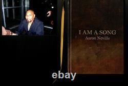 Aaron Neville Brothers I Am A Song (2010, Hardcover) Rare Poetry PHOTO + SIGNED