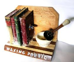 Abstract artwork Waxing Poetic, 2015 by Czappa, California Assemblage