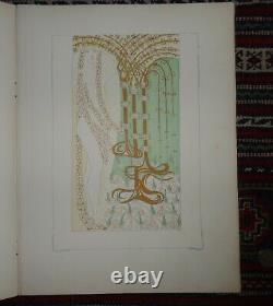 Antique Book (1908) With Beautiful Art Nouveau Illustrations By Elek Falus