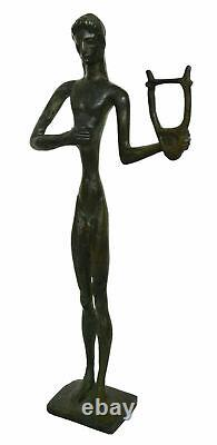Apollo bronze small sculpture God of Music Poetry Sun and Light Prophecy