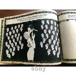 Arts & Crafts Illustrated Guest Book, Robert W Hyde, Arthur Guiterman, Barse Co