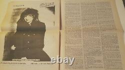 BIRTH OF TRAGEDY No. 3 Magazine 1985 Allen Ginsburg LYDIA LUNCH Henry Rollins
