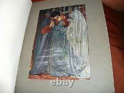 CHRISTINA ROSSETTI POEMS. FLORENCE HARRISON 1st EDITION 1910. ART NOUVEAU PLATES