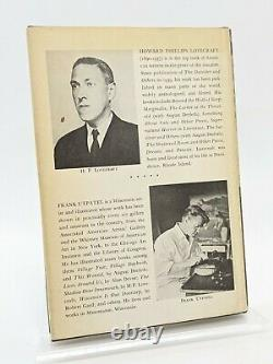 COLLECTED POEMS BY H. P. LOVECRAFT Arkham House 1963, Frank Utpatel Art