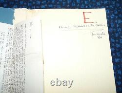 Charles Bukowski SPECIAL Crucifix in a Deathhand E of 26 with art & letter
