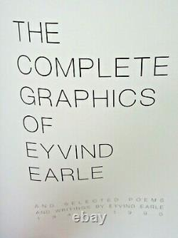 Complete Graphics of Eyvind Earle & Selected Poems & Writings by Eyvind Earle LE