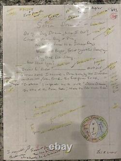 Dennis Rader BTK Killer Poem, Art, Hand Written