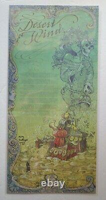 Desert Wind Neil Gaiman Poem Print Limited Signed Molly Crabapple Autographed
