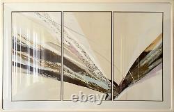 Elba Alvarez, Poem of Color, Set of Three Screenprints (Triptych), signed and nu