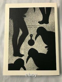 Emmett Williams The Boy and The Bird 1950-70 W Slipcase & Original Signed Art