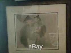 EnG Tay Signed Lithograph Of, A Poem In Emerald 1978