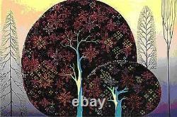 Eyvind Earl A Tree Poem Serigraph