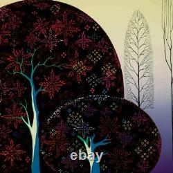Eyvind Earle A Tree Poem Hand-Signed Limited Edition Serigraph COA