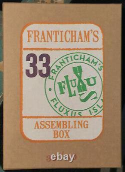Franticham's Assemblage Box #33 SGND LTD Redfoxpress fluxus conceptual art NEW