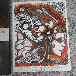 From the Murks of the Sultry Abyss (Vol 2) Brandon Boyd, Autographed plus extras