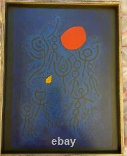 HAKU MAKI Poem 69-17 12/86 Edition Blue Mid Century Modern Japanese