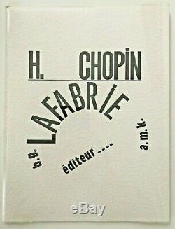 HENRI CHOPIN RARE 1990 PRINT FOLIO 58/75'SQUELETTE du VERBE' CONCRETE POETRY