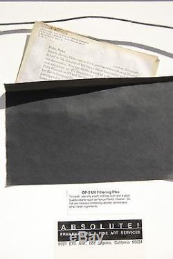 Haku Maki Poem Series Original Signed Modernism Abstract Woodblock