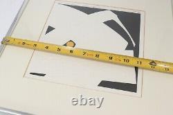 Haku Maki Signed Numbered Japanese Artist Woodblock Print 76-18 Woman Poem