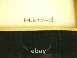 Haku Maki UU-2 and Poem-1 Beautiful 1996 Framed Prints