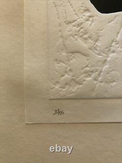 Haku Maki Woodblock Print Poem 11