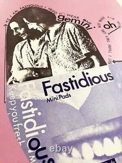Henri Chopin Rare 1974 Signed Print'fastidious' 6/30 Concrete Poetry Tate Moma