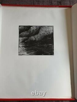 Henry Moore Signed & Numbered Lithograph Fjord 1973 Auden Poems