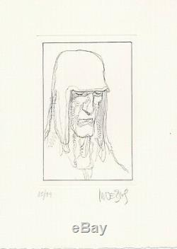 Il Paradiso Dante Illustrations by Moebius, with etching Rarity
