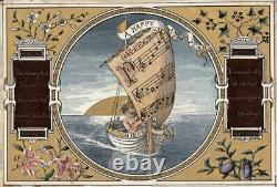 JOSEPH TWIGG 1844-1914 Small Watercolour Painting AFTER ROBERT SOUTHEY POEM 1883