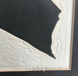 Japanese art Haku Maki poem 71-41. Rare, exquisit woodblock. Signed/numbered