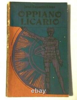 Jose Lezama Lima Oppiano Licario Cuba First Edition 1977 Ed Arte Y Literatura