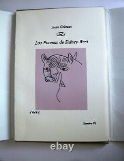Jose Luis Cuevas/Original H/S Serigraph-Poems of Sidney West