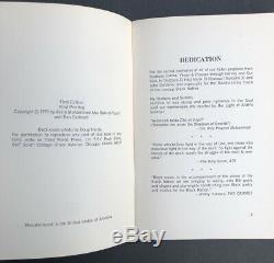 JuJu by Askia Muhammad Toure, Third World Press 1st Ed 1970 Black Arts Movement