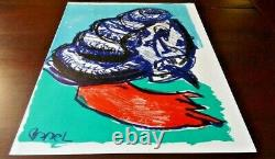 Karel Appel from 1 Cent Life, Plate Signed Limited Edition Lithograph, 1964