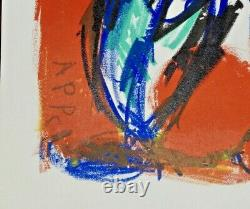 Karel Appel from One Cent Life, Plate Signed Limited Edition Lithograph, 1964