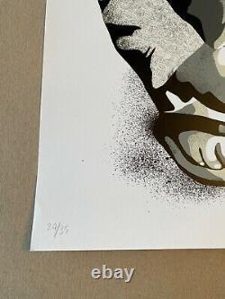 Karl Read Street Art Print'Hope' Signed Numbered 24/35 Poem by Tupac Shakur