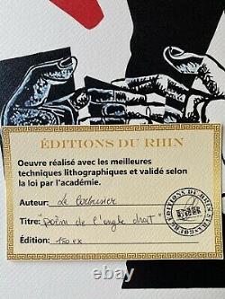 LE CORBUSIER POéM DE L'ANGLE DROIT SIGNED LITHOGRAPH