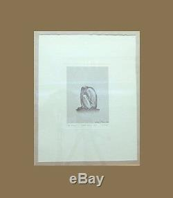Lithographs Signed Orig. Poem, Autographed by William L. Pereira, Architect