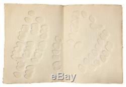 Livre d'artiste Hajdu Etienne, Dupin Jacques, Le Corps clairvoyant, Folio signed