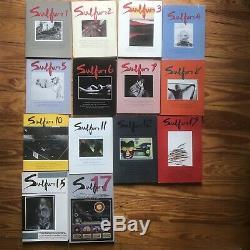 Lot of 14 Sulfur Poetry Art Maga Zine 80's 90's 00's Rare Scarce